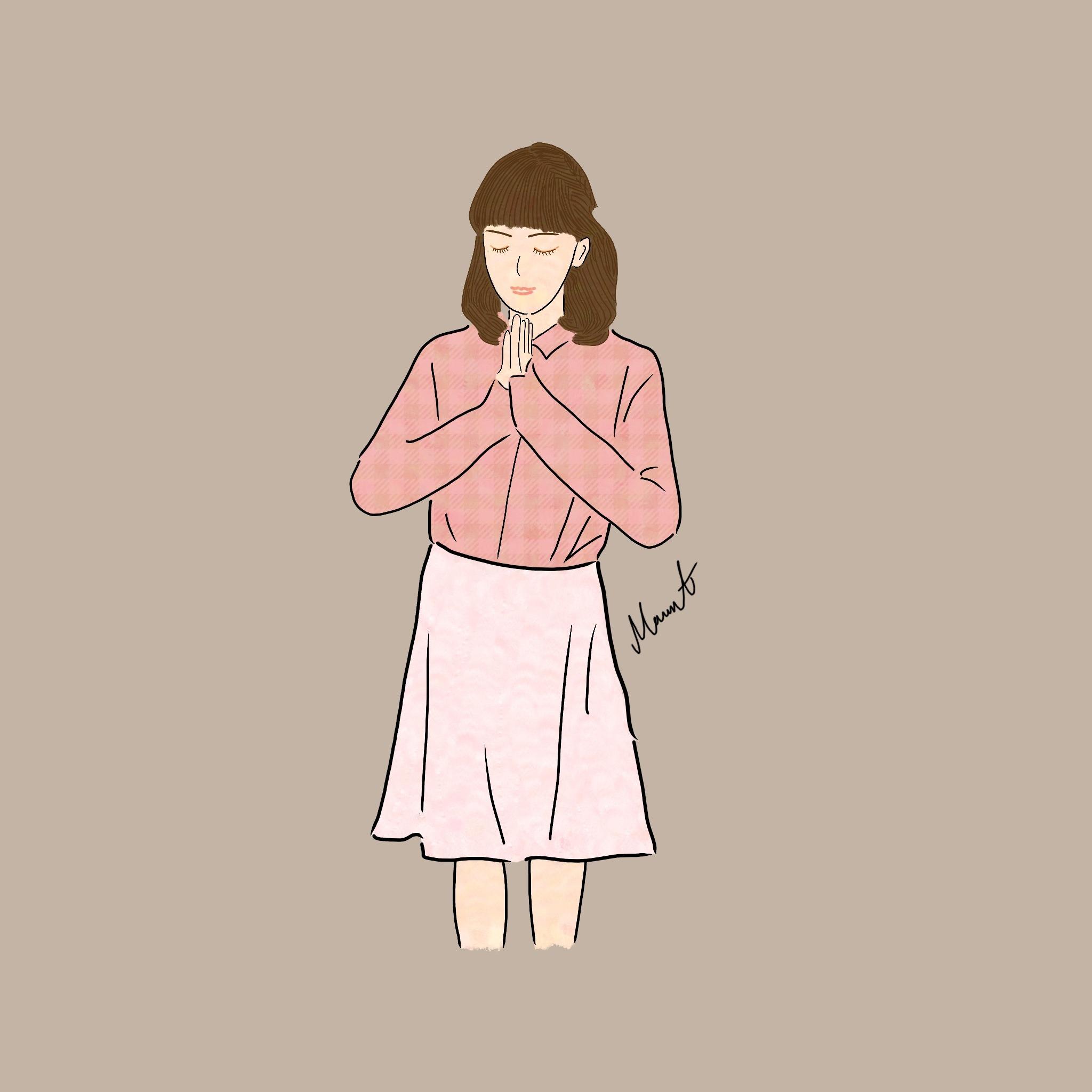 ファッションイラスト 1人 ベーシック スキマ スキルのオーダーメイドマーケット Skima
